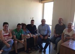 Συνάντηση του Δ.Σ. του Συλλόγου μας με τον βουλευτή Ηρακλείου κ. Σωκράτη Βαρδάκη για τα ζητήματα της Πρωτοβάθμιας Εκπαίδευσης