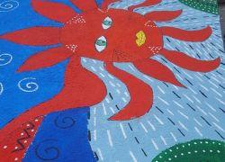 Η Ομάδα Βιβλίου ζωγραφίζει στο Δημοτικό Σχολείο Βοριζίων…
