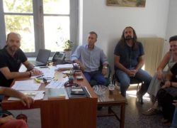 Ενημερωτική συνάντηση με τον Αντίδημαρχο Παιδείας του Δήμου Ηρακλείου, κ. Γ. Βλαχάκη.