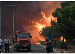 Οικονομική στήριξη στους πληγέντες από τη φονική πυρκαγιά στην Ανατολική Αττική